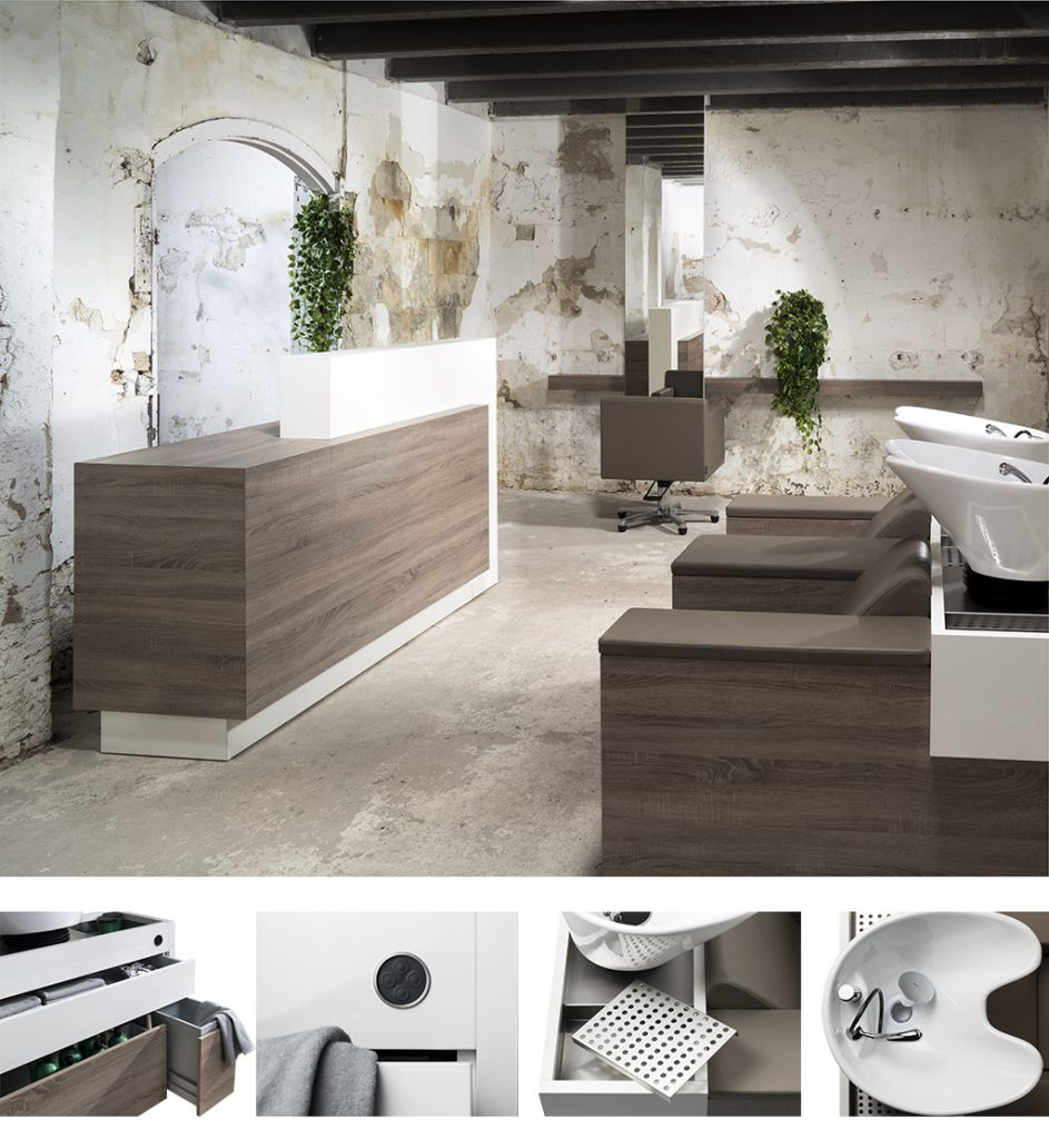 Welonda Norway frisørmøbler Bio Line