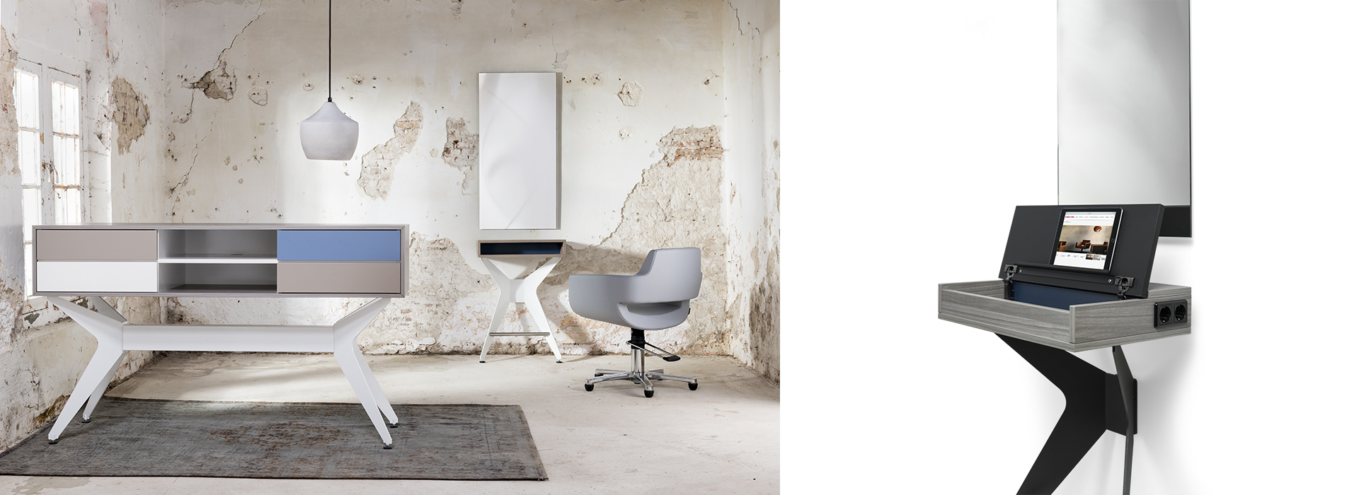 Welonda Norway frisørmøbler